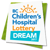 2017 BC Children's Hospital Dream Lottery
