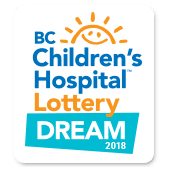 2018 BC Children's Hospital Dream Lottery
